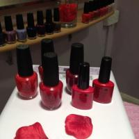 Shellac gels & OPI valentines colours