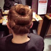 Hair up do